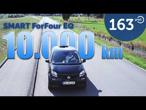 163 Grad LIVE #10 - Smart EQ ForFour - 1 Jahr - 10.000 km - Erfahrungen und Kosten