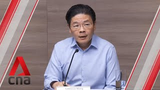 COVID-19: Lawrence Wong on Singapore's move to close most workplaces, discourage social interaction