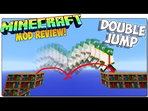 DOUBLE JUMP MOD MINECRAFT 1.9 ESPAÑOL   ¡Encantamientos de doble salto!   MINECRAFT MODS