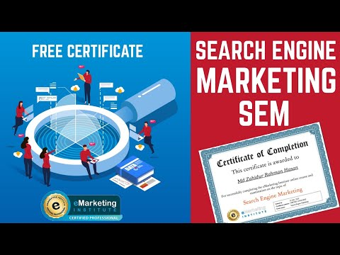 Search Engine Marketing Course & FREE Certification l All 50 ...