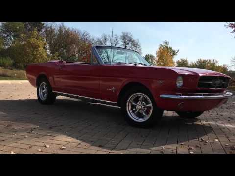 Video of '65 Mustang - FPI2