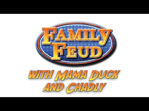 Family Feud (Wii) | Late Night Stream with Chadly and Mama Duck