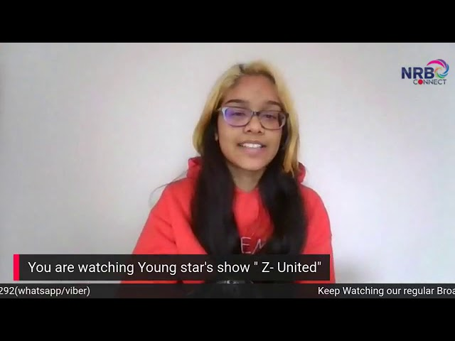Program Name: Z-United ( Young Star's Show) Topic: Festivals (august 21,2020)