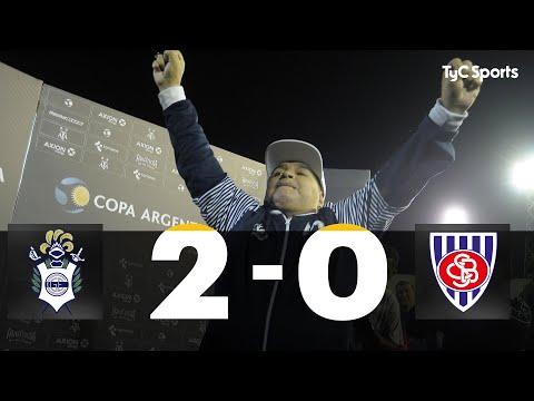 El Lobo pasó sin problemas Sportivo Barracas y sigue en Copa Argentina: 2 a 0