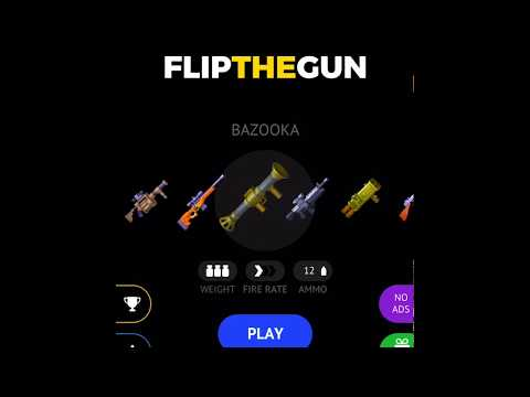 Vídeo do Flip the Gun - Simulator Game