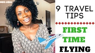 FIRST TIME FLYING in NIGERIA   2019 TRAVEL TIPS   SASSY FUNKE