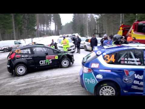 WRC Rally Sweden 2014, PART 1