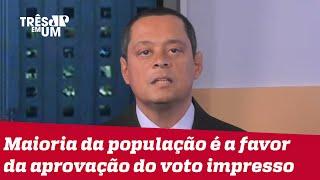 Jorge Serrão: Verdadeiro canhão que Bolsonaro conta hoje é o povo