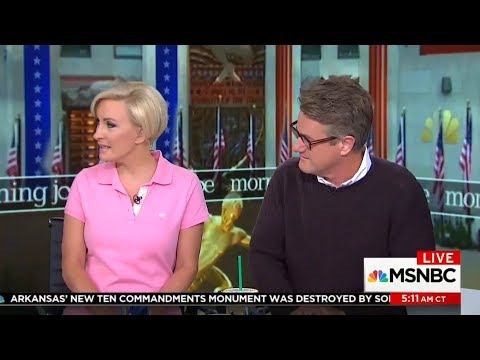 Watch the clip that made Trump viciously attacks Mika Brzezinski on Twitter