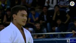 Judo 2013 Grand Prix Almaty: Bozbayev (KAZ) - Nabiev (UZB) [-90kg] final