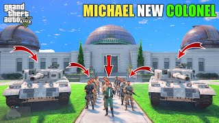 GTA 5 : MICHAEL BECOME NEW MILITARY COLONEL || BB GAMING