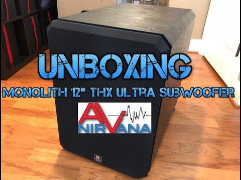 Monoprice Monolith 12″ THX Ultra Subwoofer Unboxing!