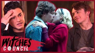 Ross Lynch and Gavin Leatherwood Dish on First Kisses With Kiernan Shipka! | Witches Council