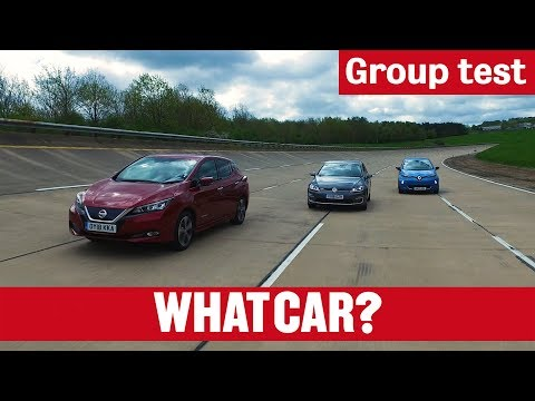 Nissan Leaf Vs Volkswagen E-Golf Vs Renault Zoe – What's The Best Electric Car In 2018? | What Car?