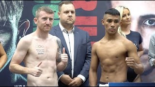 THE LEPRECHAUN LOOKS TO GET BACK TO WINNING WAYS! PADDY BARNES FULL WEIGH IN & HEAD-TO-HEAD