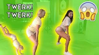 Tessa Taught Me How to Twerk!
