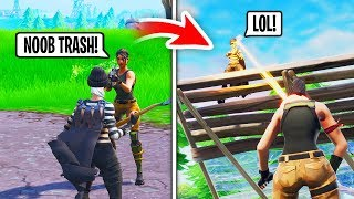 I Paid A Girl NOOB $500 To CARRY Me in Fortnite... (Ends Bad)