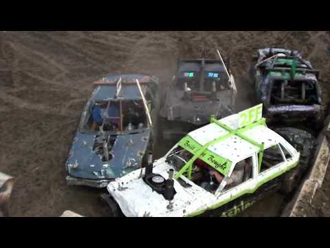 2018 Champaign County Fair Compact Car Demolition Derby