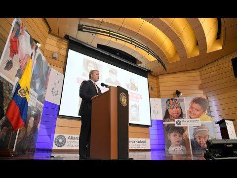 Presentación de la Alianza Nacional contra la violencia hacia niños, niñas y adolescentes