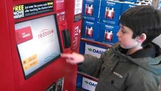How to return a Redbox DVD, (with Colin)