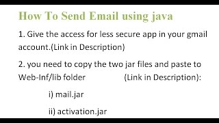 How to Send Email In Java | Eclipse | Gmail