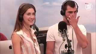Клара и Диего на Radio Deejday