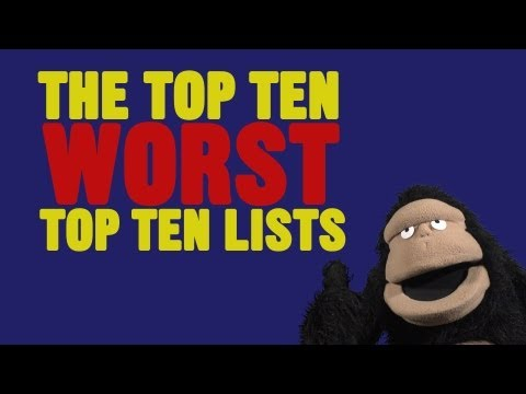 #30: Žebříček 10 nejhorších žebříčků