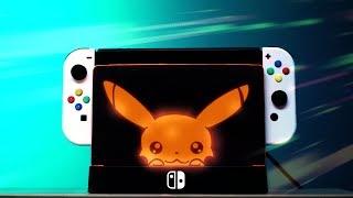 Custom DIY Nintendo Switch LED Dock!
