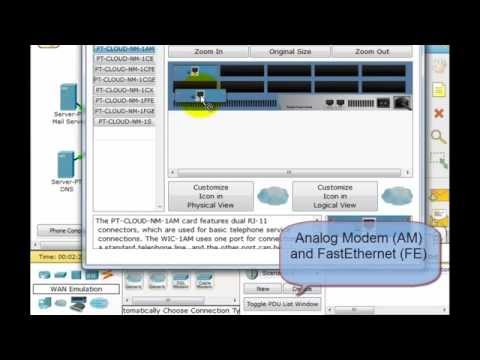 Packet Tracer - Cable Modem, DSL and Dialup Configuration