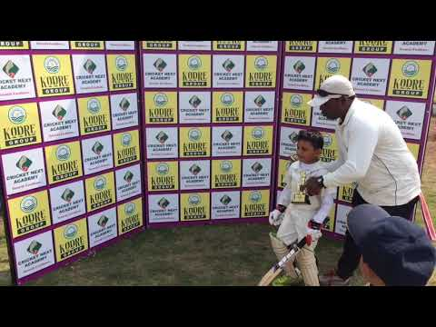 MAN OF THE MATCH Angad Thakur after match presentation 5 feb 2018_17
