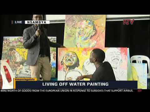 ON THE GROUND: How to make money from water painting