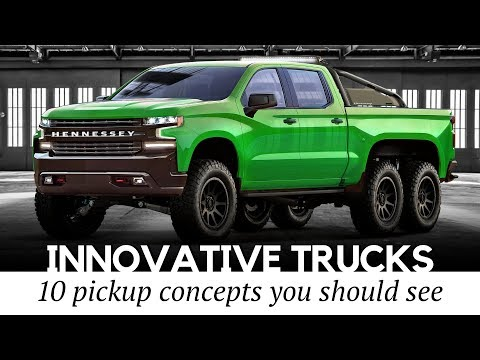 Top 10 Custom Pickup Trucks With Innovative Powertrains And Futuristic Designs Mp3