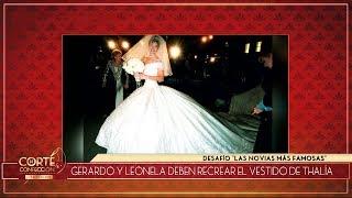 Corte y confección - Programa 17/04/19 - Las novias más famosas