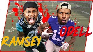 🔥 Jalen Ramsey VS Odell Beckham Jr.! Who Wins? - Madden 19 User Skill Challenge Ep.3