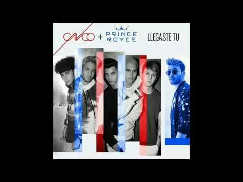 CNCO FT. Prince Royce - Llegaste Tu (Audio Oficial)