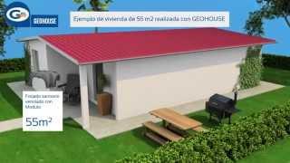 GEOHOUSE: el método de construcción alternativo de Geoplast