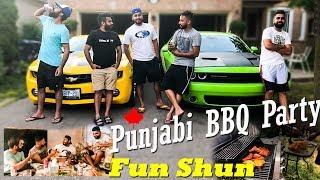Punjabis getting lit at BBQparty | Toronto | Canada | Vlog 2