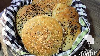 10 dakikada Pratik ve kolay  Köy Ekmeği Tarifi I Evde Ekmek Yapımı