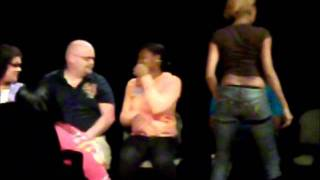 preview picture of video 'Hypnotist Dr. Steve Taubman at SUNY Canton (Part 2)'