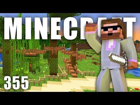 VYHLÍDKOVÝ STROMOVÝ MOST | Minecraft Let's Play #355