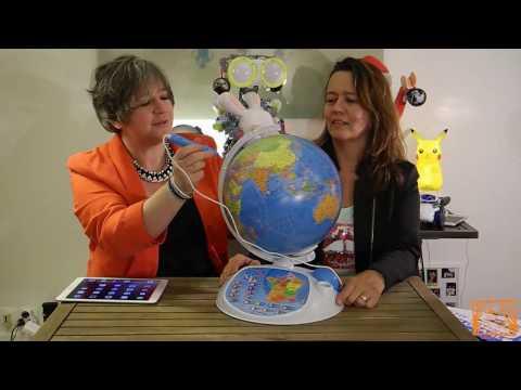 On a testé le super globe terrestre interactif Exploraglobe de Clementoni