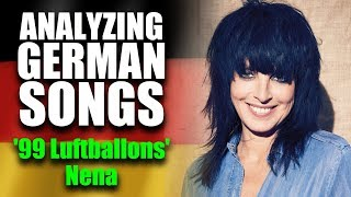 What is the song 99 LUFTBALLONS by NENA about? 🔥 English translation, lyrics meaning & explanation!