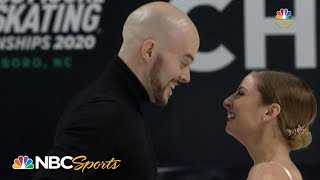 Kayne and O'Shea redeem themselves with emotional short program at Nationals I NBC Sports