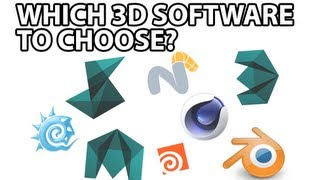 Which 3D Software to choose?