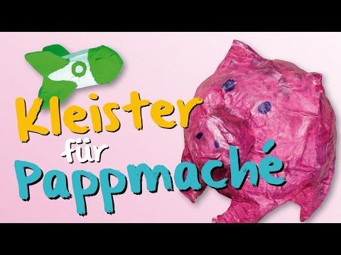 Kleister für Pappmache / Pappmaché / Papiermaché