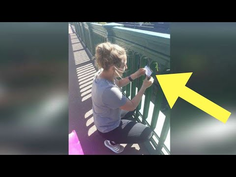 Teen Stops Suicide By Covering Bridge With Messages Of Hope