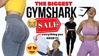 HUGE GYMSHARK SALE TRY-ON HAUL | EVERYTHING YOU NEED TO GET!