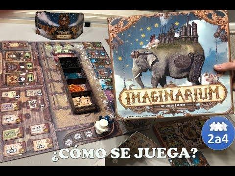 Imaginarium cómo se juega. Español.