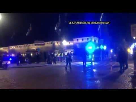 A man who had been flagged as a possible extremist sprayed gunfire near the famous Christmas market in the French city of Strasbourg on Tuesday, killing three people, wounding up to a dozen and sparking a massive manhunt. (Dec. 12)