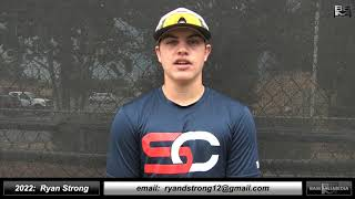 2022 Ryan Strong Athletic Catcher and Third Base Baseball Skills Video - Northern California Show